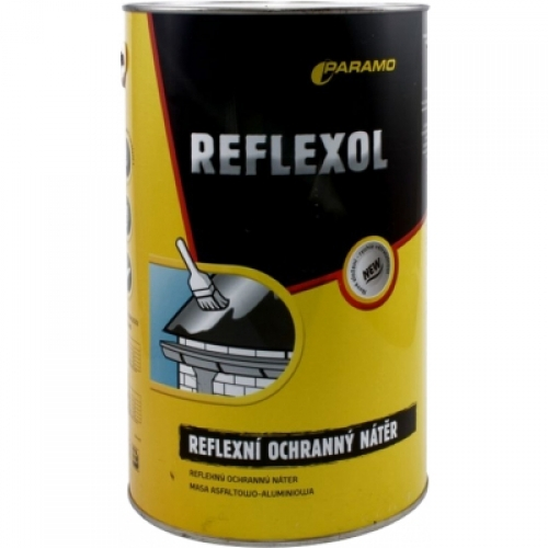 Paramo Reflexol asfaltohliníkový reflexní nátěr, 3,8 kg