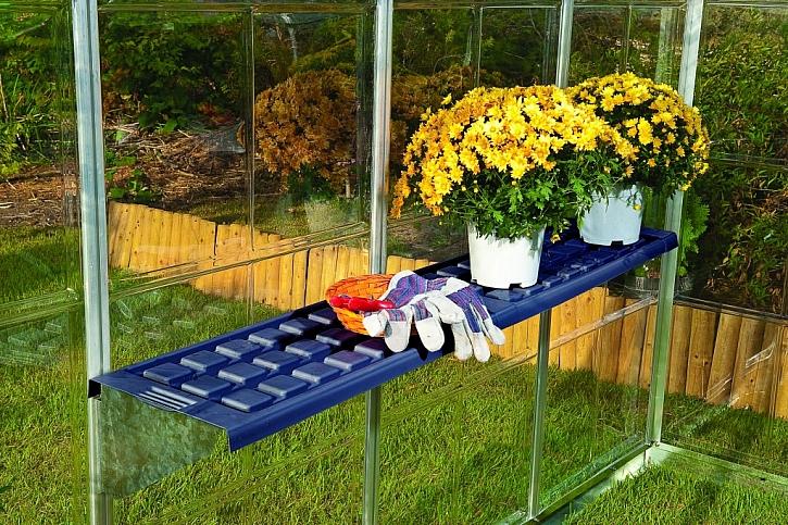 Kvalitní a pevná konstrukce skleníku