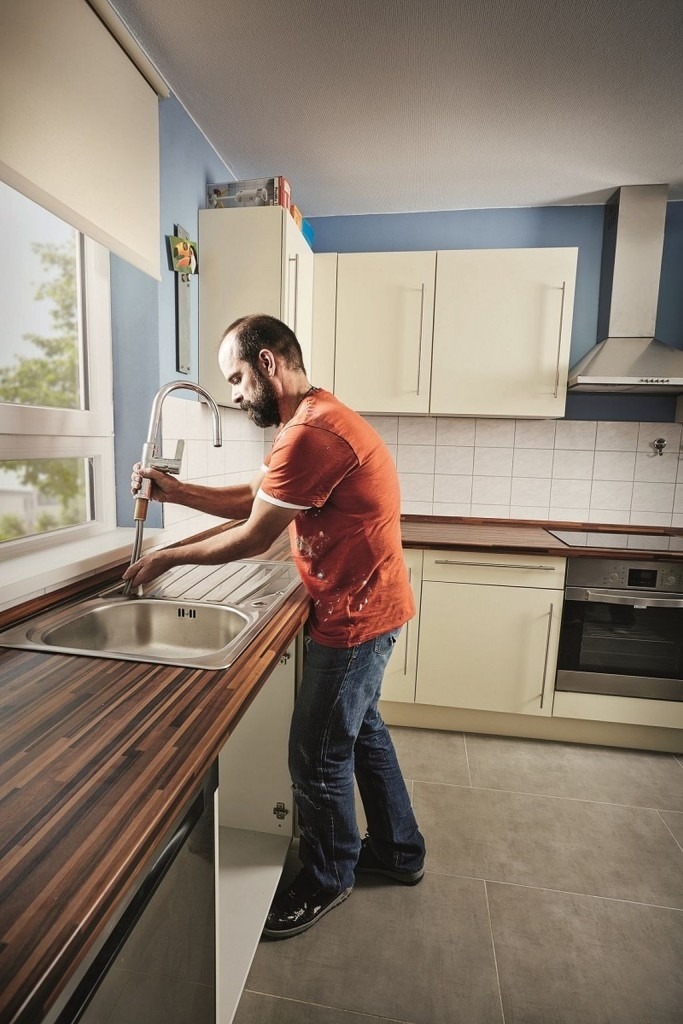 Jak namontovat kuchyňský dřez?