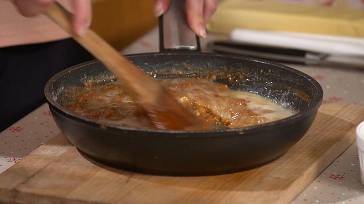 Vaření cukrové griliáše