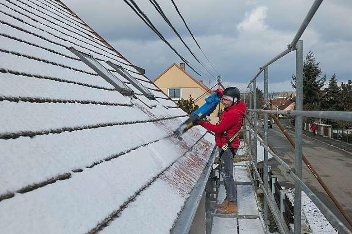 Odstranění sněhu