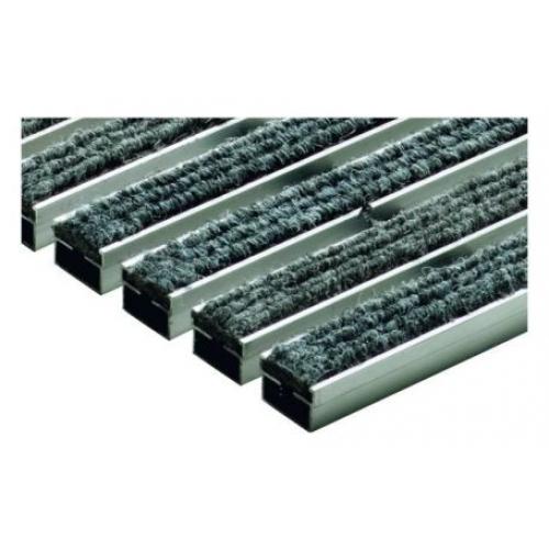 ACO rohožka s plstěnou výplní 100 x 50cm, světle šedá hliníkové profily 02182