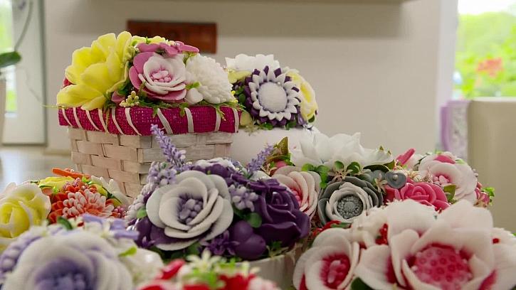 Jak vyrábět mýdlové květiny