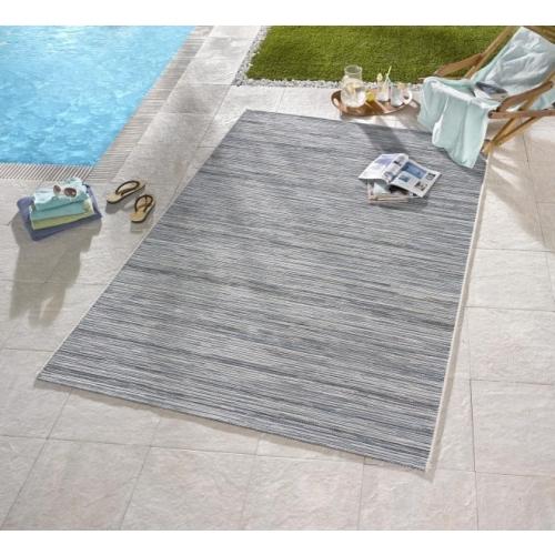 Bougari - Hanse Home koberce AKCE: 200x290 cm Venkovní kusový koberec Lotus 102445 Hellgrau Blau Meliert - 200x290 cm Šedá