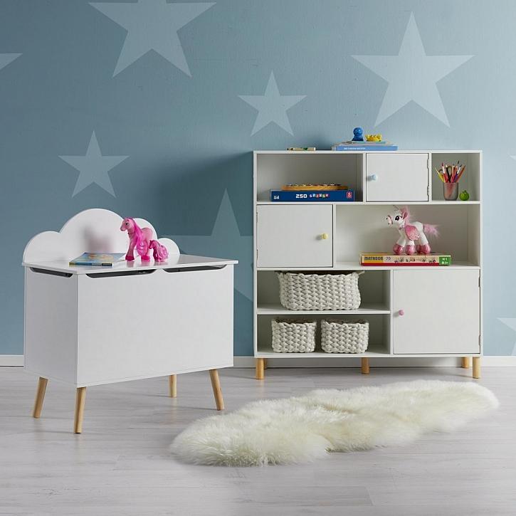 Úložný prostor v dětském pokoji