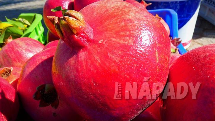 Granátové jablko:jaký plod vybrat