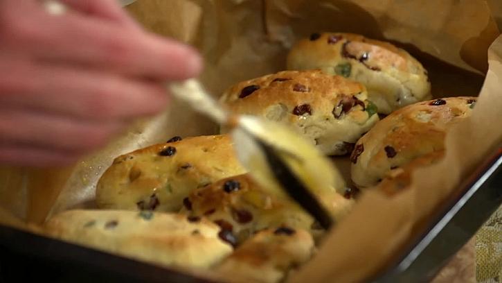 Potírání rozpuštěným máslem