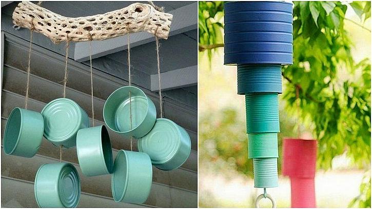 Zvonkohra nebo plašič ptáků do zahrady