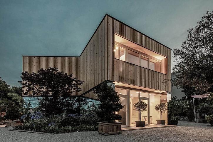 Atelier Haumer kancelář lesní školky Vídeň