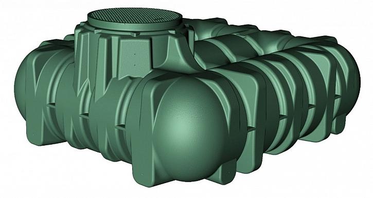 Plastové akumulační nádrže