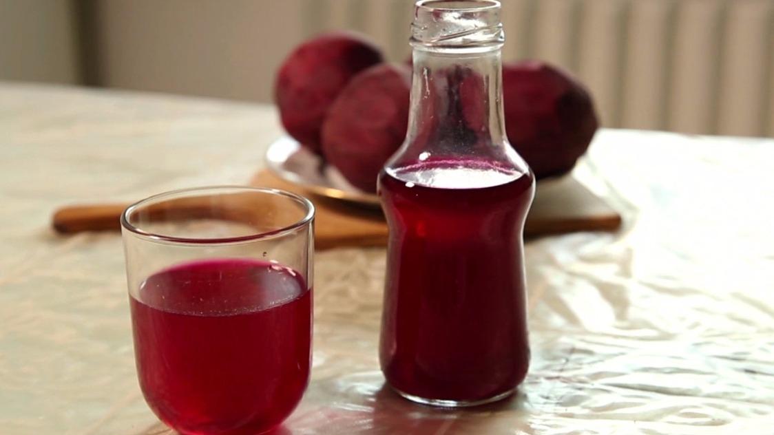 Malinovka z červené řepy aneb jak si udělat pohár tekutého zdraví