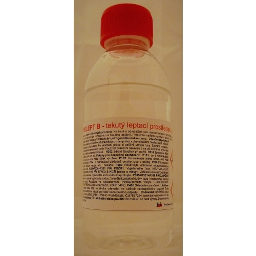 Vitrolept leptací tekutina na sklo 250g