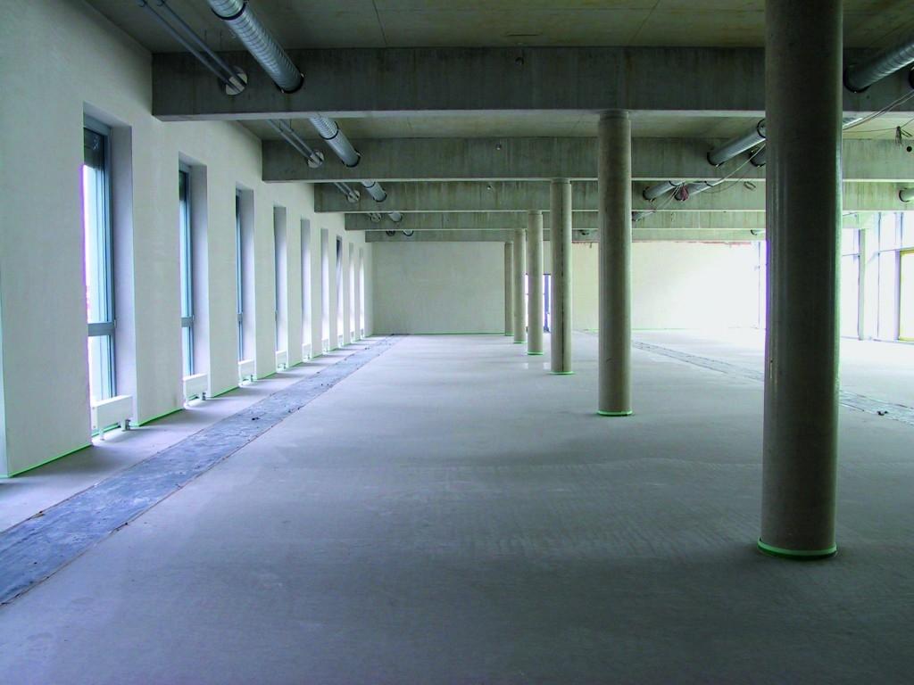 Opravy průmyslových betonových podlah