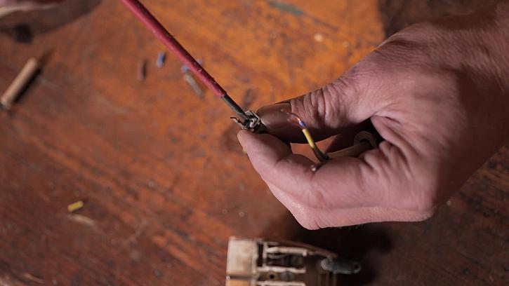 Rozdělání kabelu