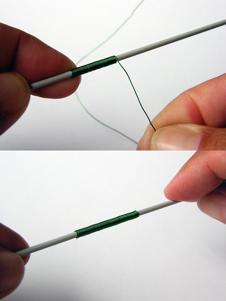 Jak vytvořit spirálky z drátků bez gizma