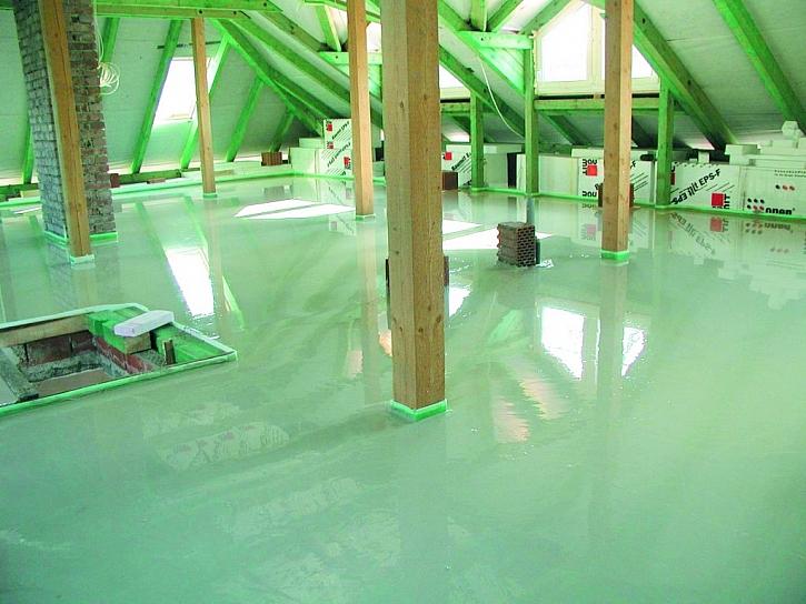 Samonivelační podlahová stěrka aneb Rychlé a mnohostranné použití