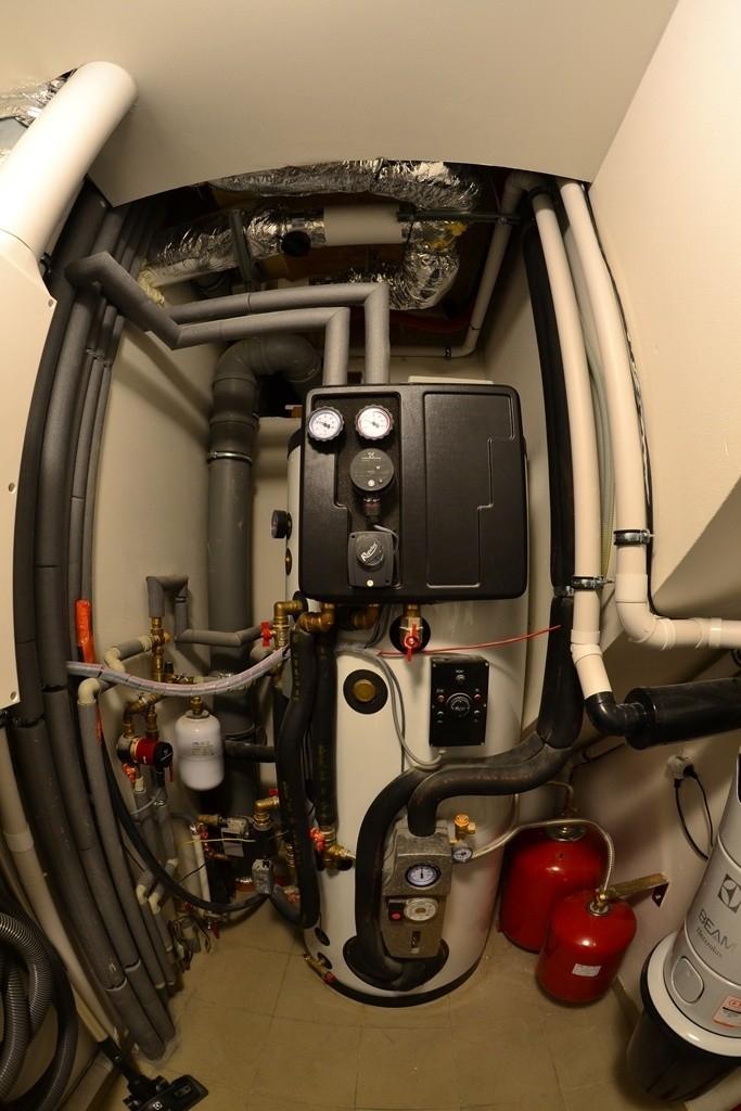 Do technické místnosti se vejde technologie vytápění i větrání