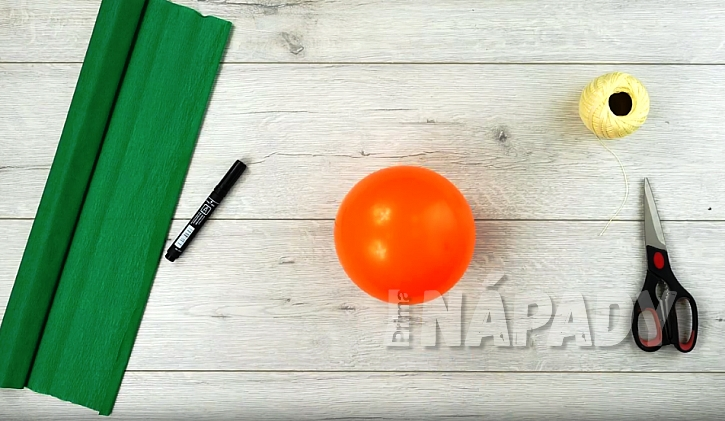 Balonek nafoukněte