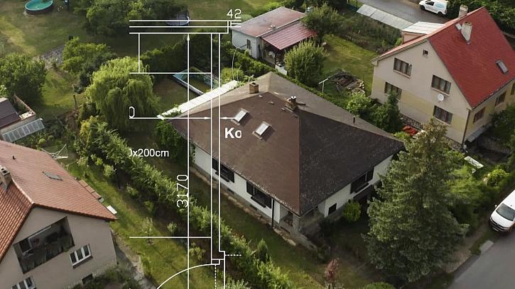 Prohlídka domu s projektantkou