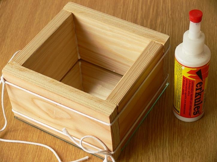 Jak vyrobit dekorační krabici