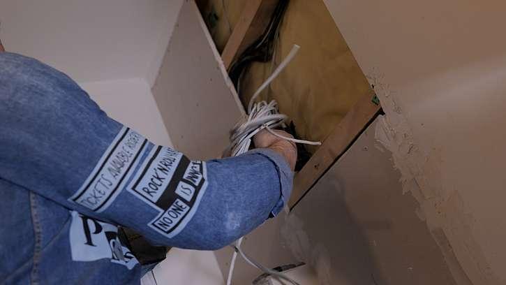 Smotání kabelů