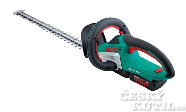 Živý plot potřebuje šikovné akumulátorové nůžky AHS 54-20
