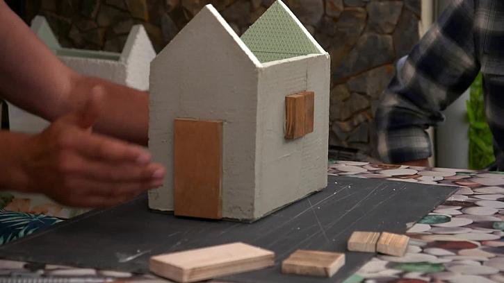 Základní stavba domečku