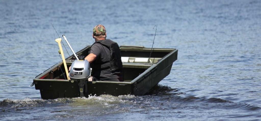 Přívěs a člun pro rybáře v jednom TETRA POD