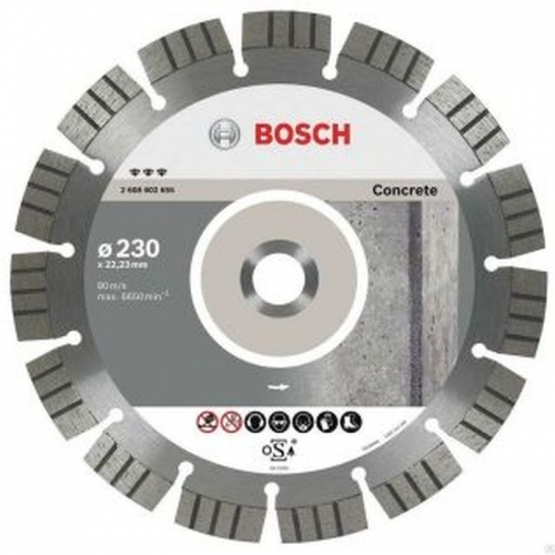 BOSCH Best for Concrete Diamantový dělicí kotouč, 230 x 22,23 x 2,4 x 15 mm