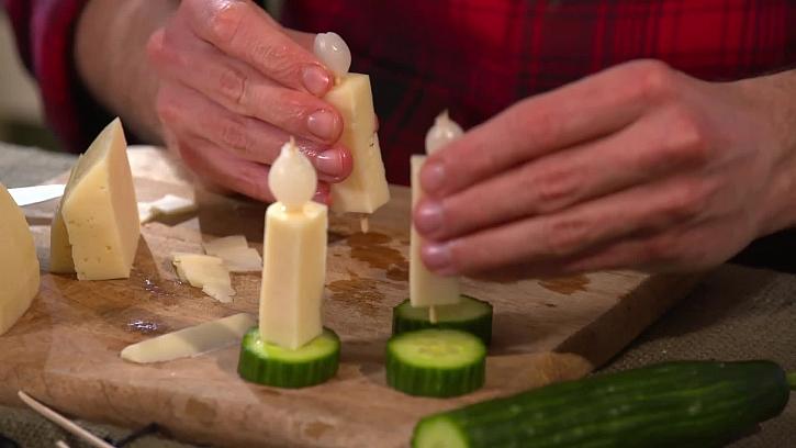 Sýrové svíčky