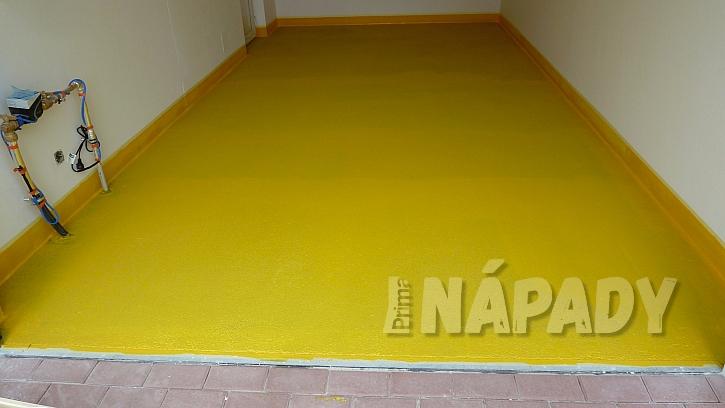 Jak zafixovat a ošetřit betonovou podlahu v garáži  6