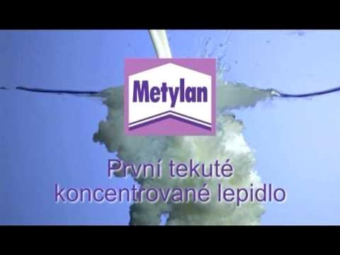 První tekuté koncentrované lepidlo Metylan