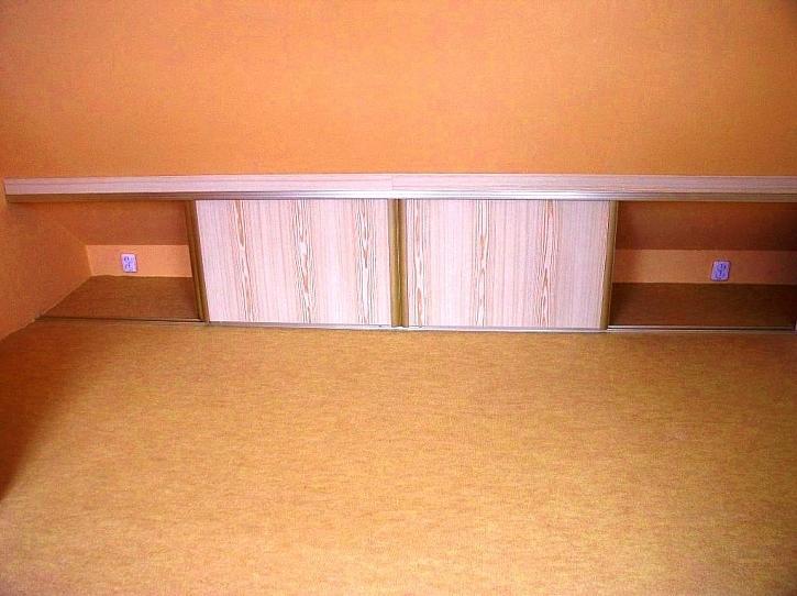 Tip od čtenářky - skřínky v podkroví