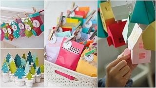 Veselé adventní kalendáře: Inspirace pro tvořivé rodiče