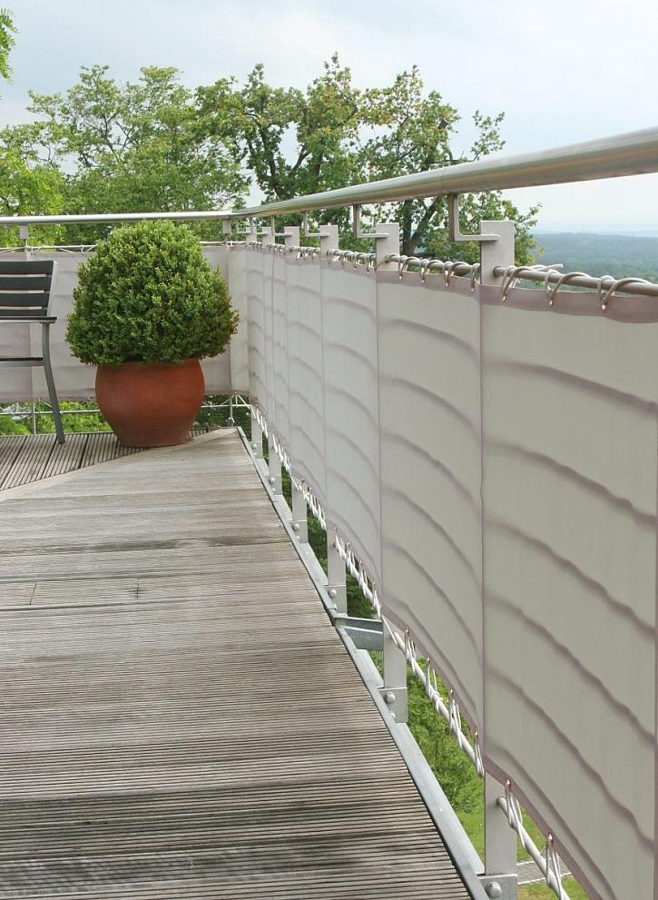 soukromí na balkóně
