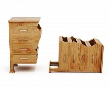Jak opravit rozbitou skříň, zásuvku nebo utržené madlo?