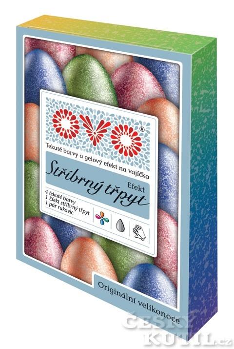 Zdobení velikonočních vajíček – perleťové barvy