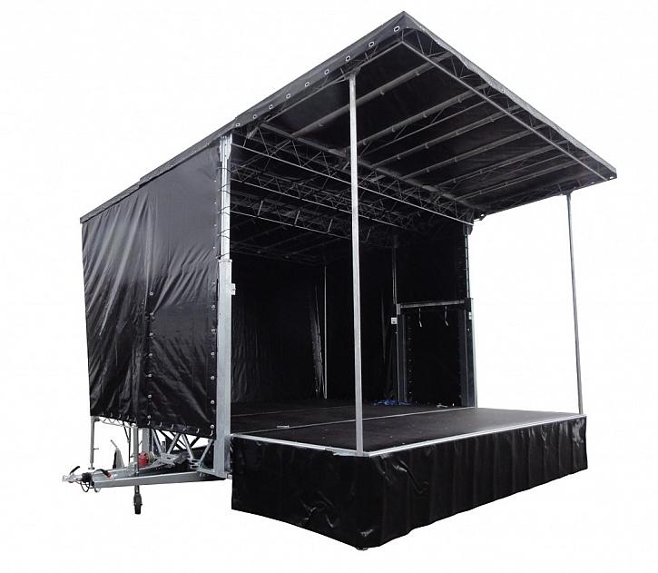 Největší mobilní pódium v ČR