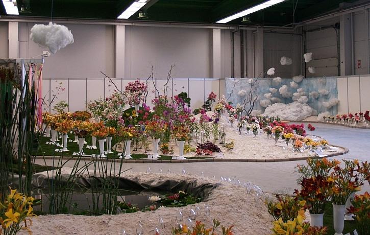Finále Floristické soutěže v aranžování květin