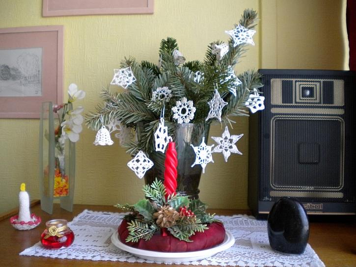 Adventní dekorace