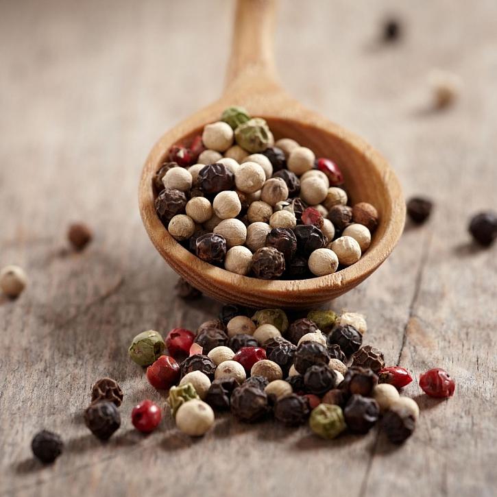 V našich kuchyních nejčastěji používáme 4 druhy pepře