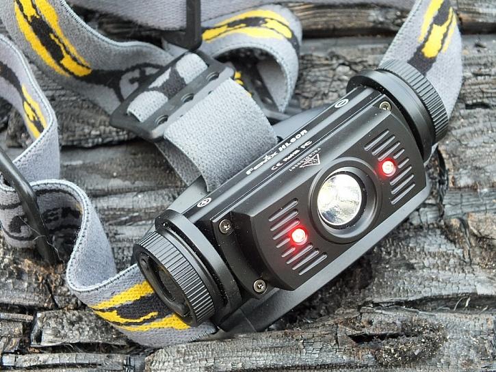 Nabíjecí LED čelovka HL60R