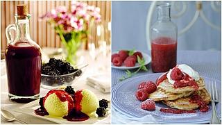 Uvařte si omáčku z malin a ostružin: Ovocný toping pro chuť i potěšení