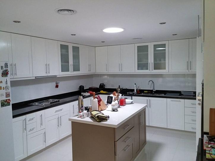 světlovod v kuchyni