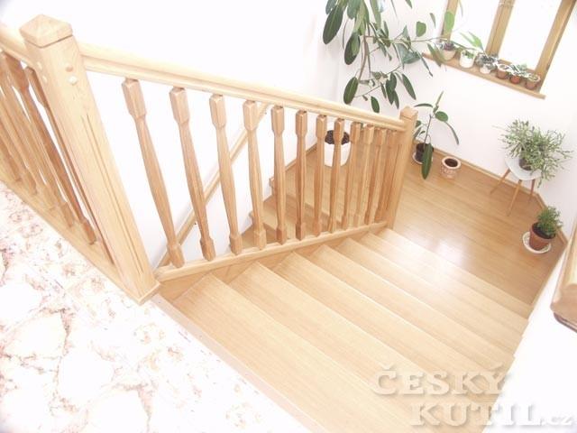 Rozdělení typů schodišť podle tvaru