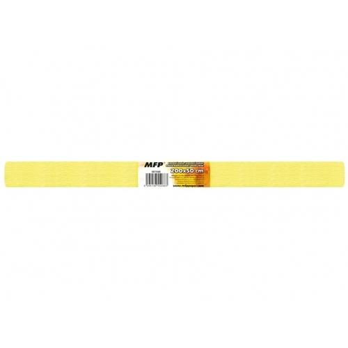 MFP krepový papír role 50x200cm neon žlutý