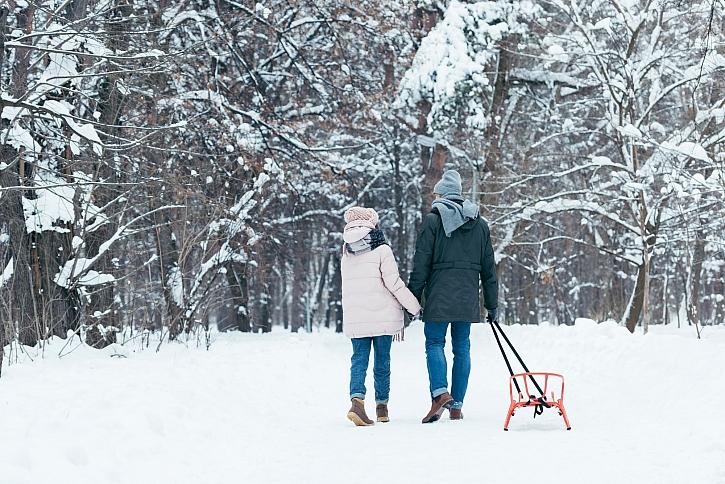 Zimní procházky