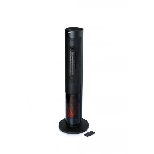 DOMO Teplovzdušný ventilátor s imitací ohně