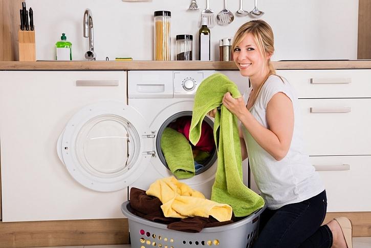 Sušení prádla v domě