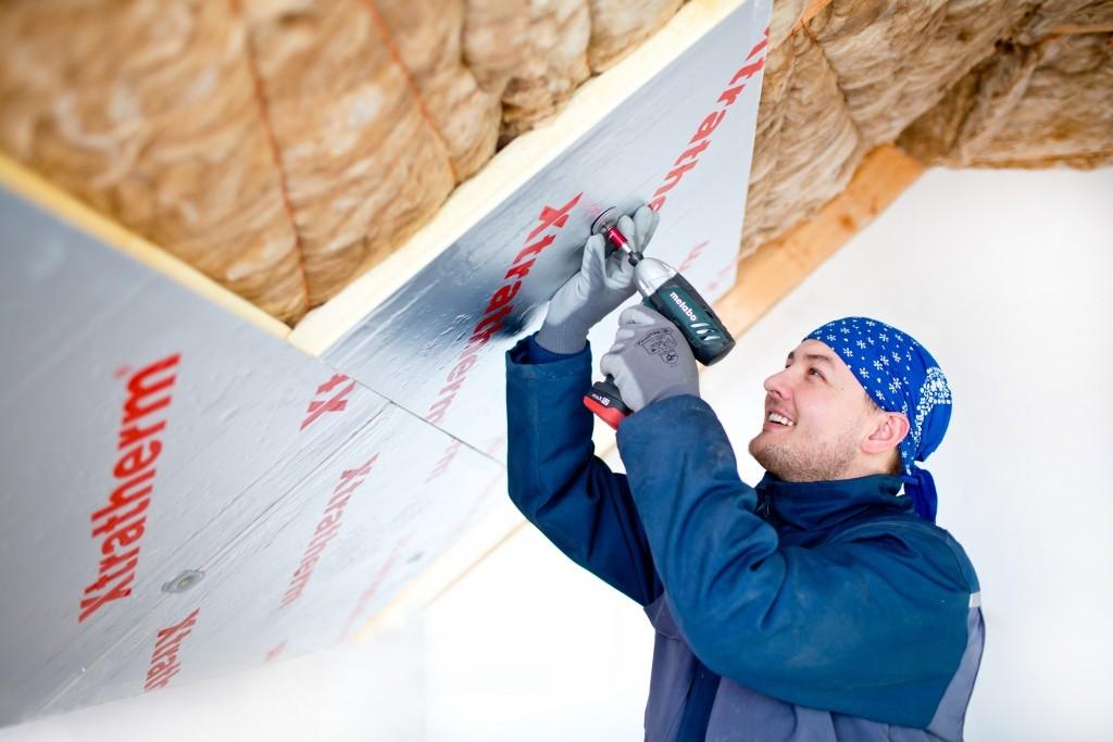 Podkrokevní zateplení střechy